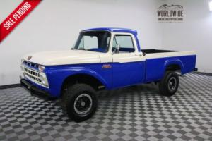 1965 Ford F100 RARE REAL 4X4 V8 RESTORED Photo