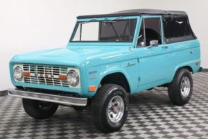 1969 Ford Bronco RESTORED. 4X4. HALF CAB. U14 VIN! RARE! Photo