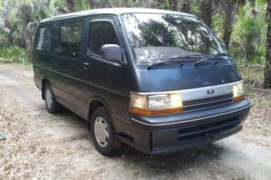 1989 Toyota Hiace Turbo Diesel Hiace Super Custom Photo