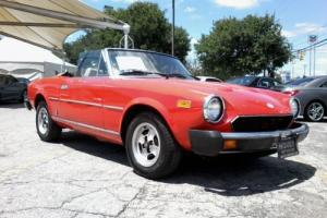 1981 Fiat 2000 SPIDER BY PININIFARINA Photo