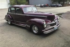 1947 Hudson 4 Dr Custom -- Photo