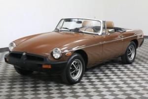 1979 MG B CONVERTIBLE ROADSTER