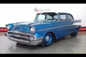 1957 Chevrolet Bel Air/150/210 210 Post Photo