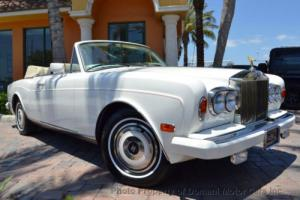 1987 Rolls-Royce Corniche Corniche II Photo