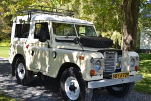 1973 Land Rover Defender Model 88""