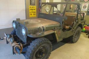 1946 Willys CJ Photo