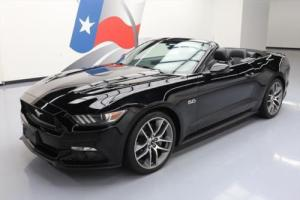 2016 Ford Mustang 5.0 GT PREM CONVERTIBLE LEATHER NAV