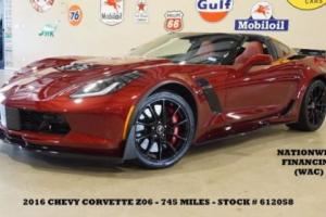 2016 Chevrolet Corvette Z06 3LZ AUTO,Z07 PKG,MSRP 107K,749 MILES,WE FINANCE