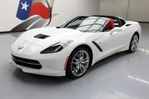 2014 Chevrolet Corvette STINGRAY Z51 2LT NAV RED SEATS