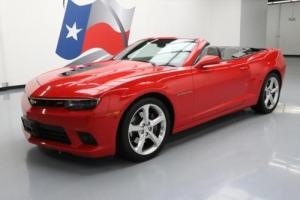 2015 Chevrolet Camaro 2SS CONVERTIBLE NAV LEATHER 20'S