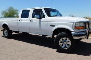 1997 Ford F-350 7.3 POWERSTROKE DIESEL LEATHER NEW TIRES Photo