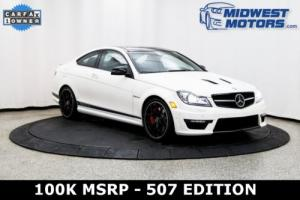 2015 Mercedes-Benz C-Class C63 AMG 507 Edition 2012 2013 2014 2016