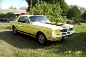 1966 Ford Mustang 2 Door Coupe