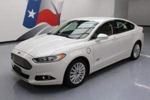 2014 Ford Fusion SE ENERGI HYBRID HTD LEATHER NAV
