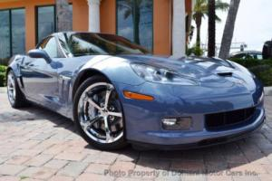 2011 Chevrolet Corvette SUPERSONIC BLUE! 3LT LOADED GRAND SPORT COUPE w/TA