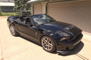 2013 Ford Mustang Shelby 500GT Convertible