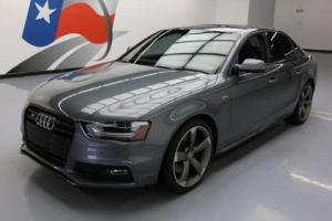 2014 Audi S4 3.0T PREMIUM PLUS S/C BLACK OPTIC AWD NAV