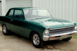 1967 Chevrolet Nova 67 CHEVY II NOVA SS COUPE V8 4 SPEED 2 DOOR 66
