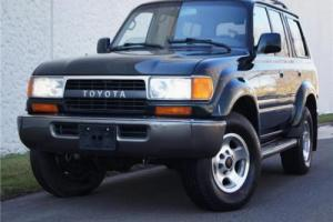 1994 Toyota Land Cruiser Base Sport Utility 4-Door