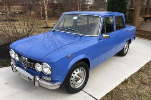1974 Alfa Romeo Giulia Photo