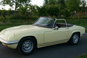 1969 Lotus Elan Series 4 Convertable Roadster 34k original miles