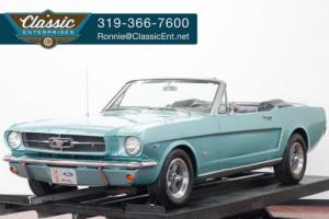 1965 Ford Mustang Convertible A Code 289 V8 4 Speed Manual