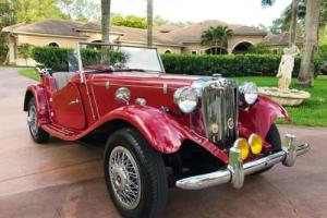 1952 MG MG-TD -- Photo