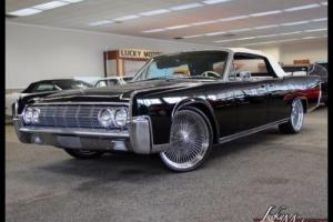 1964 Lincoln Continental Convertible Custom Sound System Air Ride 22's Photo