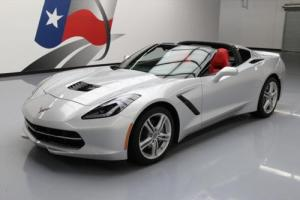 2016 Chevrolet Corvette STINGRAY LT LEATHER 7-SPD TARGA