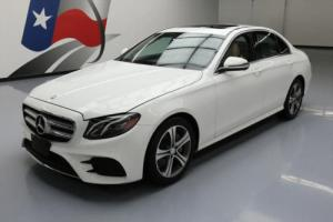 2017 Mercedes-Benz E-Class E300 SEDAN TURBO SUNROOF NAV