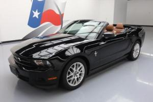 2012 Ford Mustang V6 PREMIUM CONVERTIBLE LEATHER