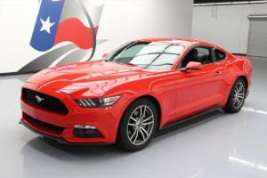 2015 Ford Mustang ECOBOOST PREMIUM LEATHER REAR CAM