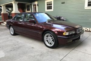 2001 BMW 7-Series 740i 750il