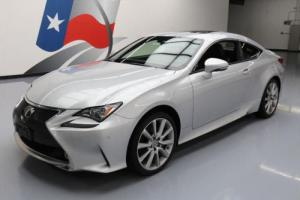 2015 Lexus RC AWD PREM SUNROOF NAV REAR CAM