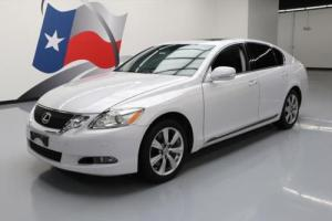 2008 Lexus GS AWD CLIMATE LEATHER SUNROOF NAV