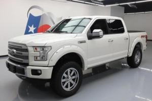 2015 Ford F-150 PLATINUM CREW FX4 4X4 5.0 LIFTED NAV