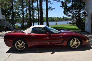2003 Chevrolet Corvette 50th Anniversary Package Edition
