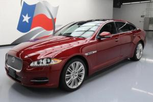 2013 Jaguar XJ L SUPERCHARGED REAR SEAT COMFORT NAV