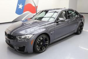 2015 BMW M3 SEDAN TURBO M DCT SUNROOF NAV REAR CAM