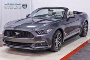2017 Ford Mustang EcoBoost Premium Convertible Leather