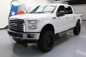 2015 Ford F-150 XLT CREW 4X4 LIFT ECOBOOST REAR CAM