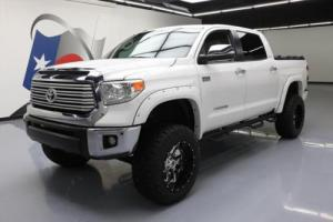 2015 Toyota Tundra LTD CREWMAX 4X4 LIFT SUNROOF NAV