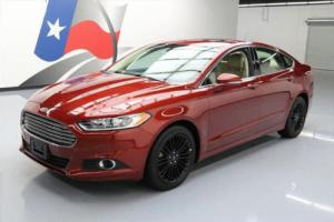 2014 Ford Fusion SE SUNROOF REAR CAM ALLOY WHEELS