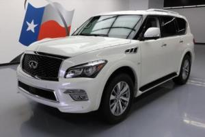 2017 Infiniti QX80 THEATER SUNROOF NAV DVD 20'S