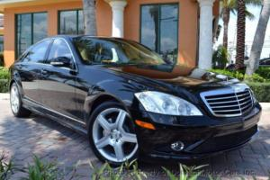 2008 Mercedes-Benz S-Class AMG SPORT PACKAGE + PREMIUM-2 PACKAGE iPOD WOOD WH