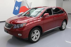 2011 Lexus RX HYBRID LUXURY LEATHER SUNROOF NAV