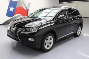 2013 Lexus RX SUNROOF ROOF RACK ALLOY WHEELS