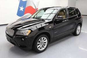 2014 BMW X3 XDRIVE28I AWD HTD SEATS PANO SUNROOF