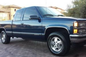 1996 Chevrolet C/K Pickup 1500 Extended Cab Short Bed