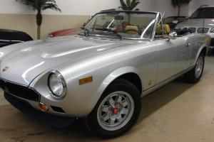 1979 Fiat 124 Spider Abarth tribute | eBay Photo